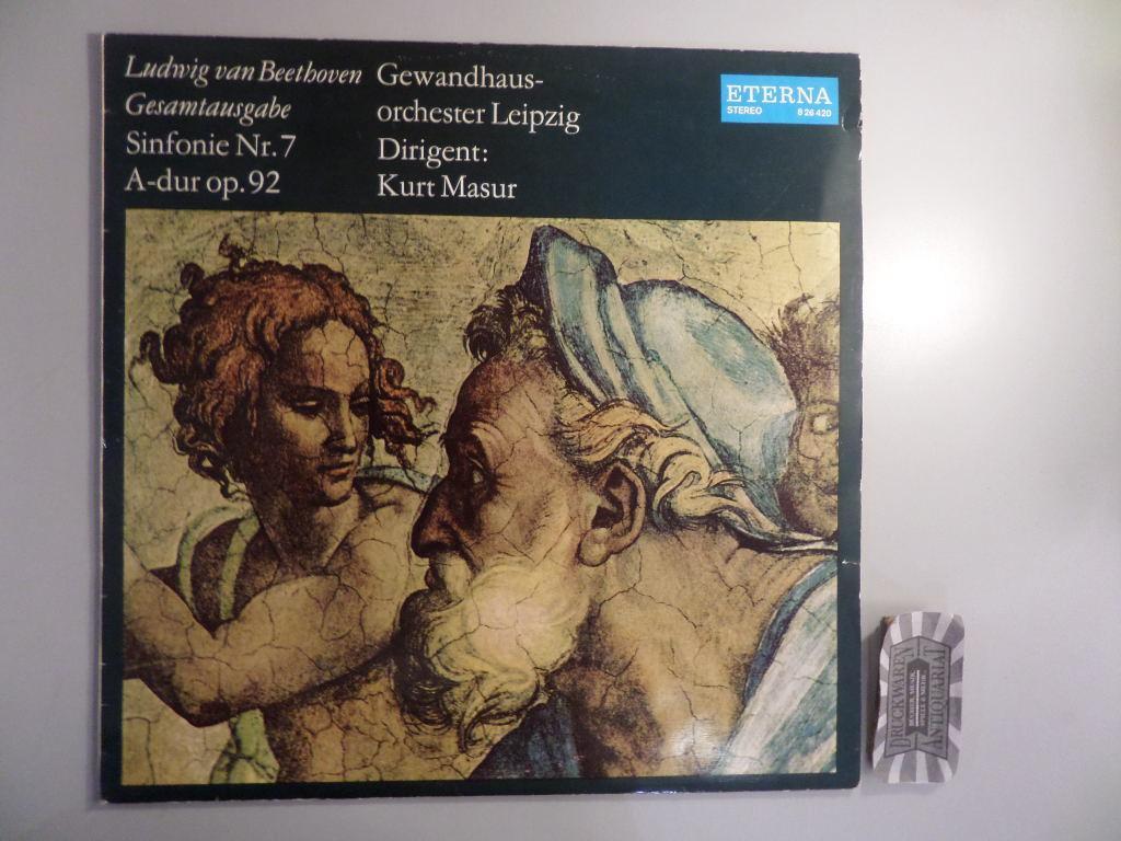 Beethoven : Sinfonie Nr. 7 A-dur, Op. 92 [Vinyl, LP, 8 26 420].