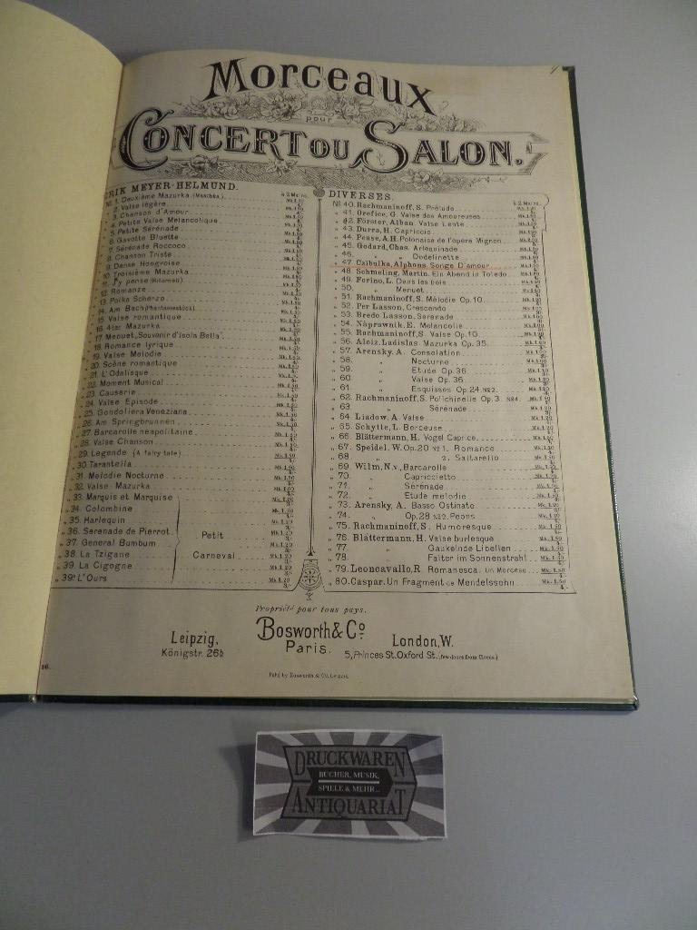 Alphons Czibulka - Op. 356 : Liebestraum nach dem Balle.