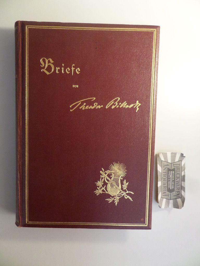Briefe Gewicht : Briefe von theodor billroth zvab