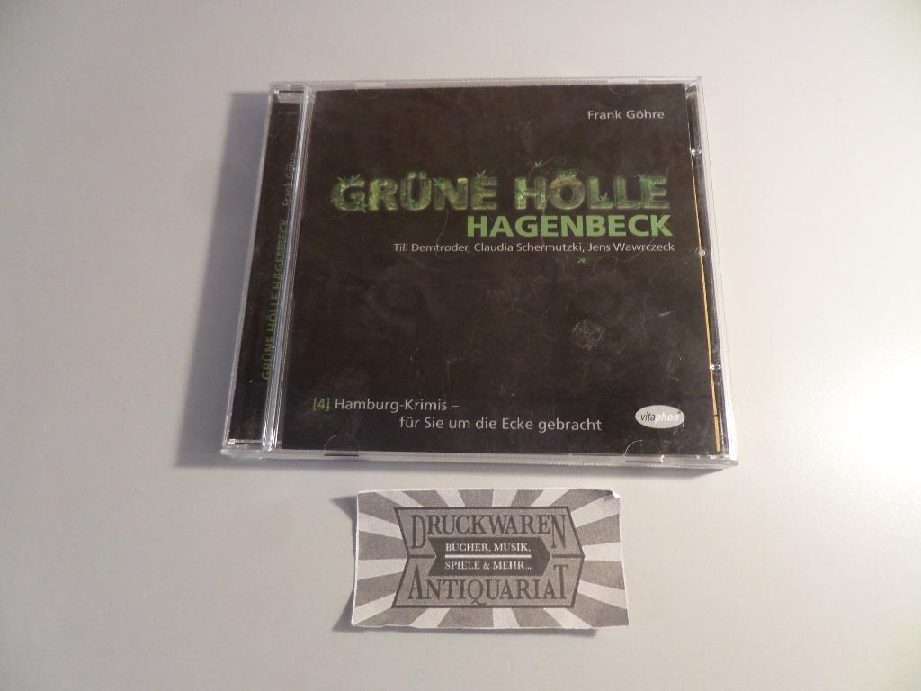 Grüne Hölle Hagenbeck (Hamburg-Krimis Nr. 4) [Hörspiel, Audio-CD]. - Göhre, Frank, Till Demtroder [Sprecher] Claudia Schermutzki [Sprecherin] u. a.