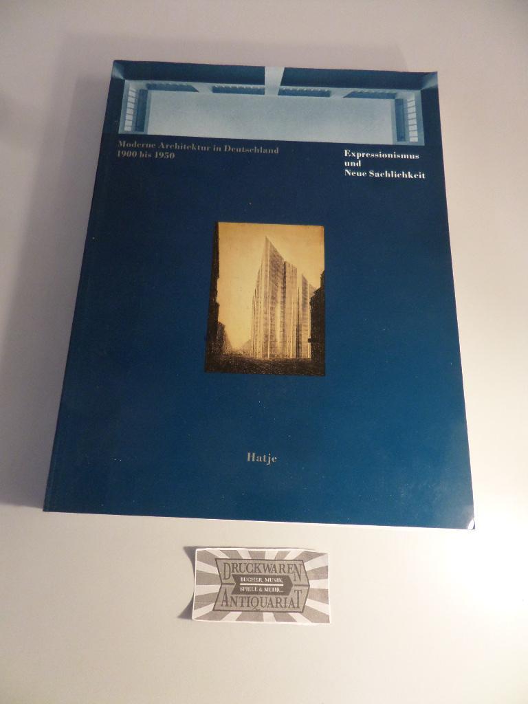Expressionismus und moderne zvab - Moderne architektur in deutschland ...