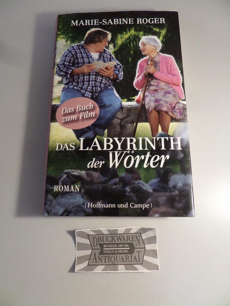 Das Labyrinth der Wörter.: Roger, Marie-Sabine: