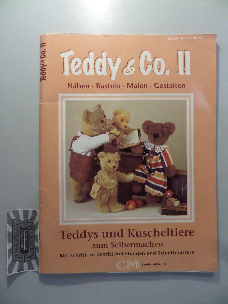 teddy & co. ii : nähen - basteln - malen - gestalten. teddys und