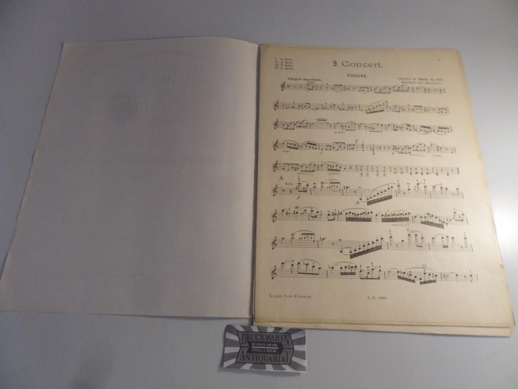 Neuntes Konzert A-Moll. Op. 104. E.E. 2093.