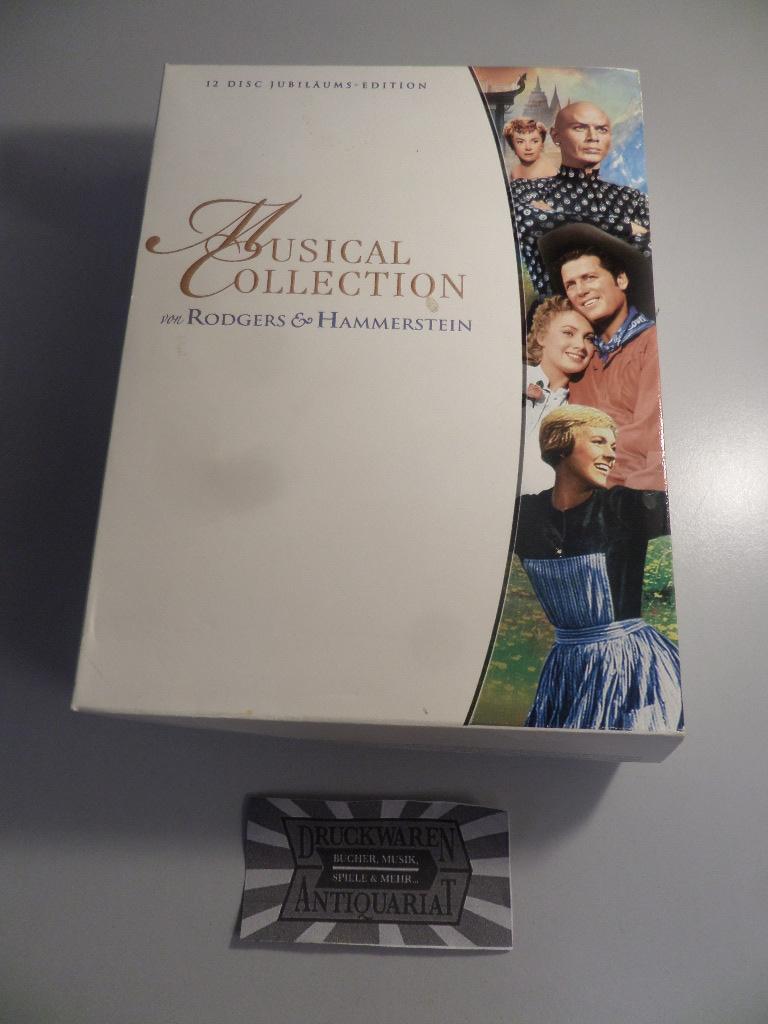 Musical Collectin con Rodgers & Hammerstein (12 Disc Jubiläums-Edition [12 DVDs].