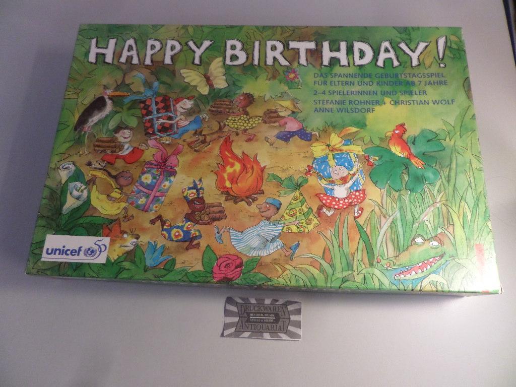 Happy Birthday Das Spannende Unicef Geburtstagsspiel Für Eltern