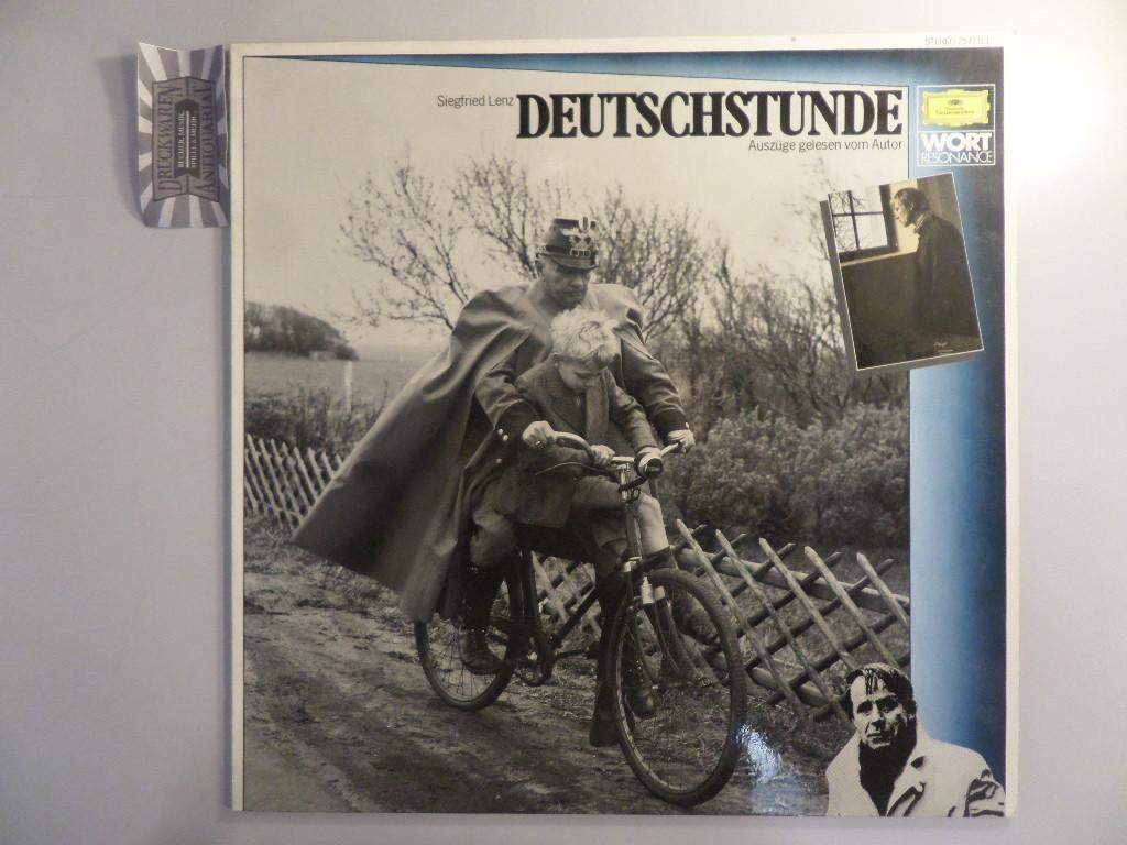 Deutschstunde - Auszüge gelesen vom Autor [Vinyl, Hörspiel-LP, 2571 113].