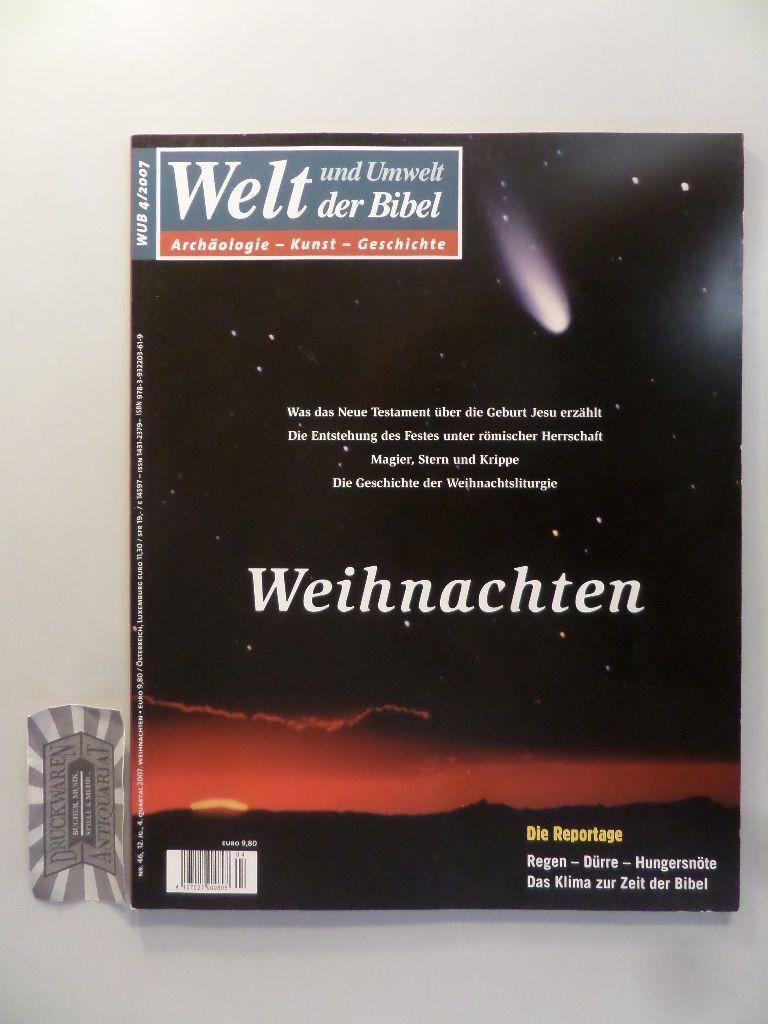 Entstehung Von Weihnachten.Das Weihnachten Der Magazine Zeitschriften Zvab