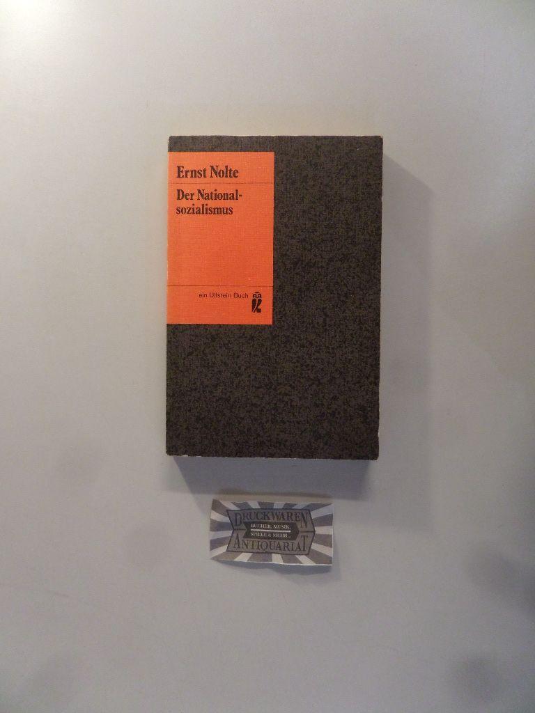 Der Nationalsozialismus. Ullstein Buch Nr. 2756. - Nolte, Ernst
