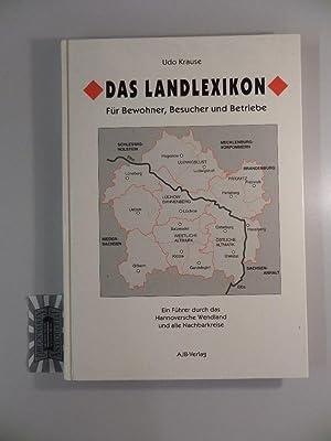 Das Landlexikon : ein Führer durch das: Krause, Udo: