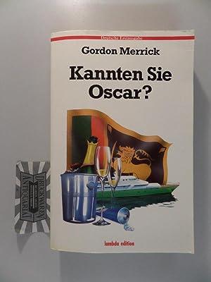 Kannten Sie Oscar?.: Merrick, Gordon: