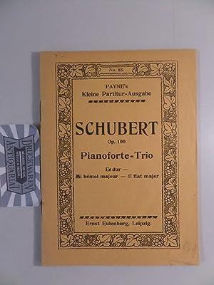 Trio No. 2. Es-dur für Pianoforte, Violone: Schubert, Franz:
