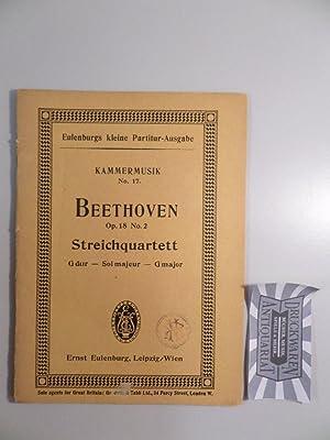 Quartett Nr. 2, G-dur für 2 Violinen,: Beethoven, L. van: