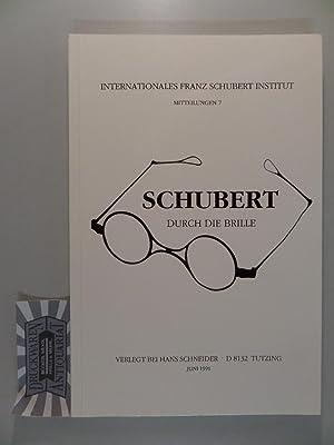 Schubert durch die Brille - Internationales Franz: Hilmar, Ernst: