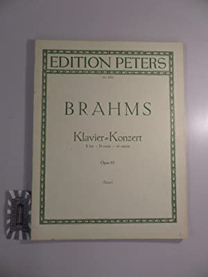 Konzert für Klavier und Orchester, Op. 83: Brahms, Johannes [Komponist]