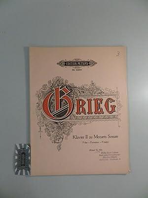 Klavier II zu Mozarts Sonate F-Dur (Köchel: Grieg, Edvard [Komponist]: