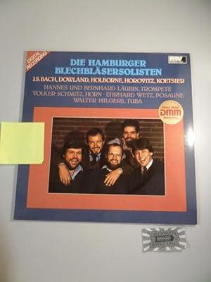 Die Hamburger Blechbläsersolisten [Vinyl-LP/MV30-1112].: Die Hamburger BlechbläsersolistenJohann