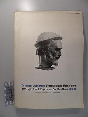 Gutenberg Gesellschaft Internationale Vereinigung für Geschichte und: Fuchs, Jockel und