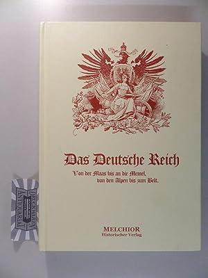 Das Deutsche Reich - Von der Maas: von Köppen, Fedor: