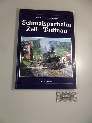 Die Schmalspurbahn Zell-Todtnau. Nebenbahndokumentation Ban d74.
