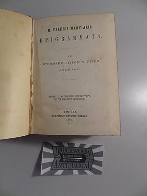 M. Valerii Martialis : Epigrammata, A. Persii: Martialis, Marcus Valerius,