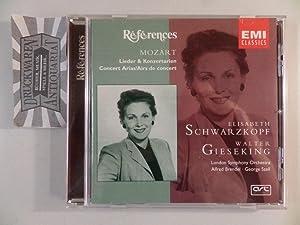 Mozart : Lieder & Konzertarien [Audio-CD].: Mozart, Wolfgang Amadeus