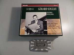 Mélodies Francaises [4 Audio-CDs, Box-Set].: Souzay [Bariton], Gerard,