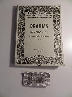 Johannes Brahms : Symphonie II - D: Brahms, Johannes: