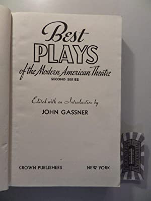 Best Plays of the Modern American Theatre,: John, Gassner [Editor]: