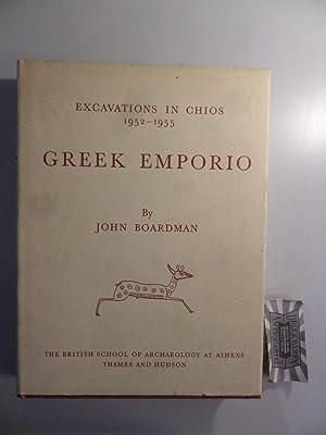 Excavations in Chios 1952 - 1955: Greek: Boardman, John: