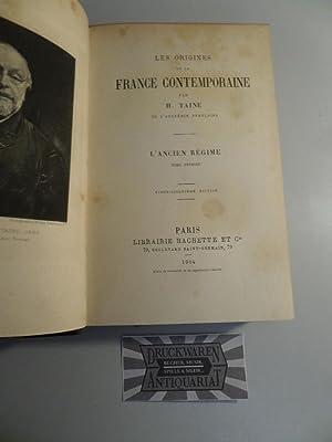 Les Origines De La France Contemporaine. Band: TAINE, H.: