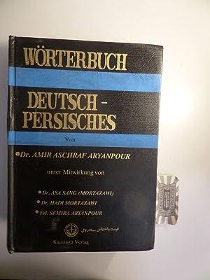 Kamangir : Deutsch-Persisches Wörterbuch.: Aryanpour, Amir Aschraf:
