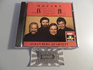 Mozart: String Quartets No.18 K. 464 +: Alban Berg Quartett