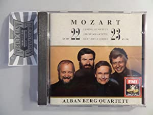 Mozart: Streichquartette 22 + 23 [CD].: Alban Berg Quartett-Wolfgang