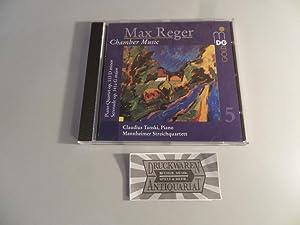 Reger: Chamber Music Vol. 5 [CD]. Piano: Reger, Max, Mannheimer
