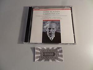 Blacher: Kammermusik [CD]. Divertimento für Trompete /: Blacher, Boris and