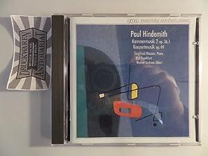 Hindemith: Kammermusik Nr.2 Op.36,1 / Kammermusik Op.49: Hindemith, Paul, Radio