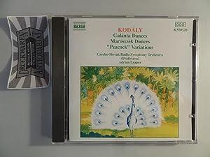 Kodaly: Tänze Aus Galanta / Marrosszek Dances: Kodaly, Zoltan, Czecho-Slovak