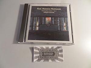 Hartmann: Streichquartette Nr.1 und Nr.2 [CD].: Hartmann, Karl Amadeus,