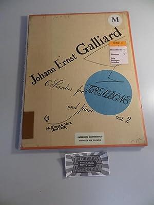 Johann Ernst Galliard - Six Sonatas for: Galliard, Johann Ernst: