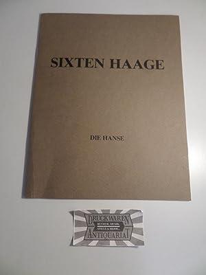 """Sixten Haage - """"Die Hanse"""" Radierungen.: Lindquist, Sven-Olof [Red.]:"""