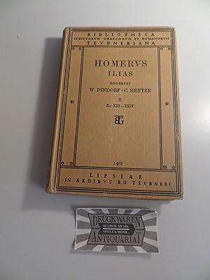 Homeri Ilias - Pars II : Iliadis: Dindorf, Guilemus: