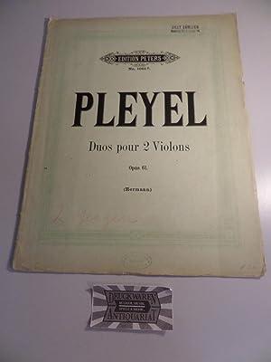 Ignace Pleyel - Op. 61 : Trois: Pleyel, Ignace: