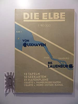 Die Elbe von Cuxhaven bis Lauenburg : Griese, Carl: