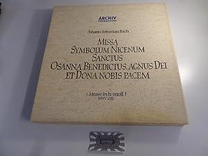 Bach: Messe in h-moll, BWV 232 [Vinyl,: Bach, Johann Sebastian
