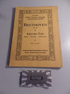 Klavier-Trio B dur Op.97. Payne's Kleine Partitur-Ausgabe: Beethoven, Ludwig van: