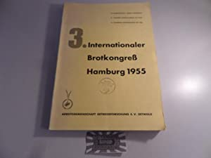 3. Internationaler Brotkongreß Hamburg 1955.