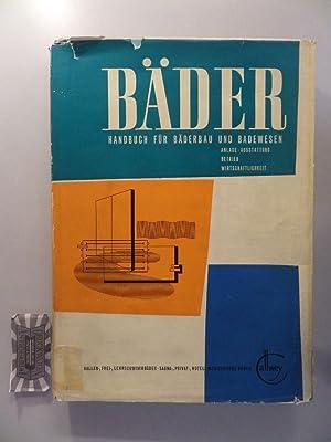 Fabian Dietrich Bader Handbuch Fur Baderbau Badewesen Abebooks