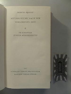 Auf der Suche nach der verlorenen Zeit.: Proust, Marcel: