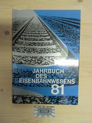 Jahrbuch des Eisenbahnwesens 1981. Folge 32.: Vaerst, Wolfgang (Hrsg.)